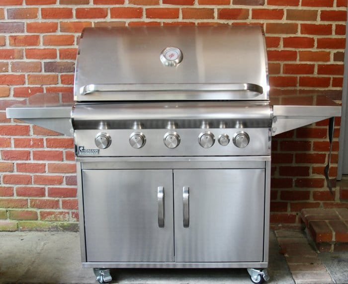 Stainless Steel Grilling